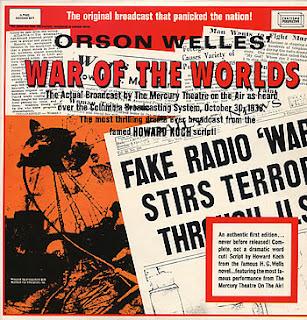 Orson Welles' 'War Of The Worlds'