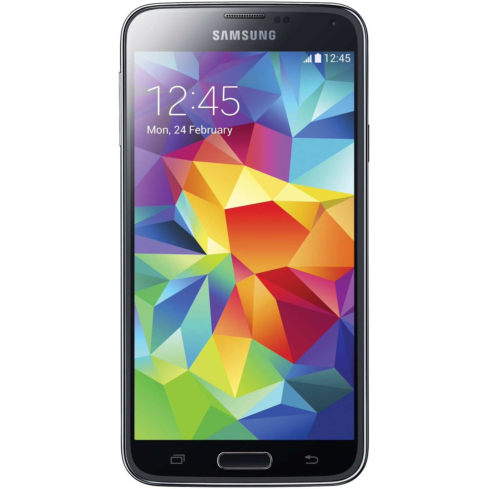 how to change backup password on galaxy s5