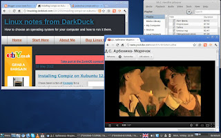 Xubuntu 12.04: VLC and Flash videos work