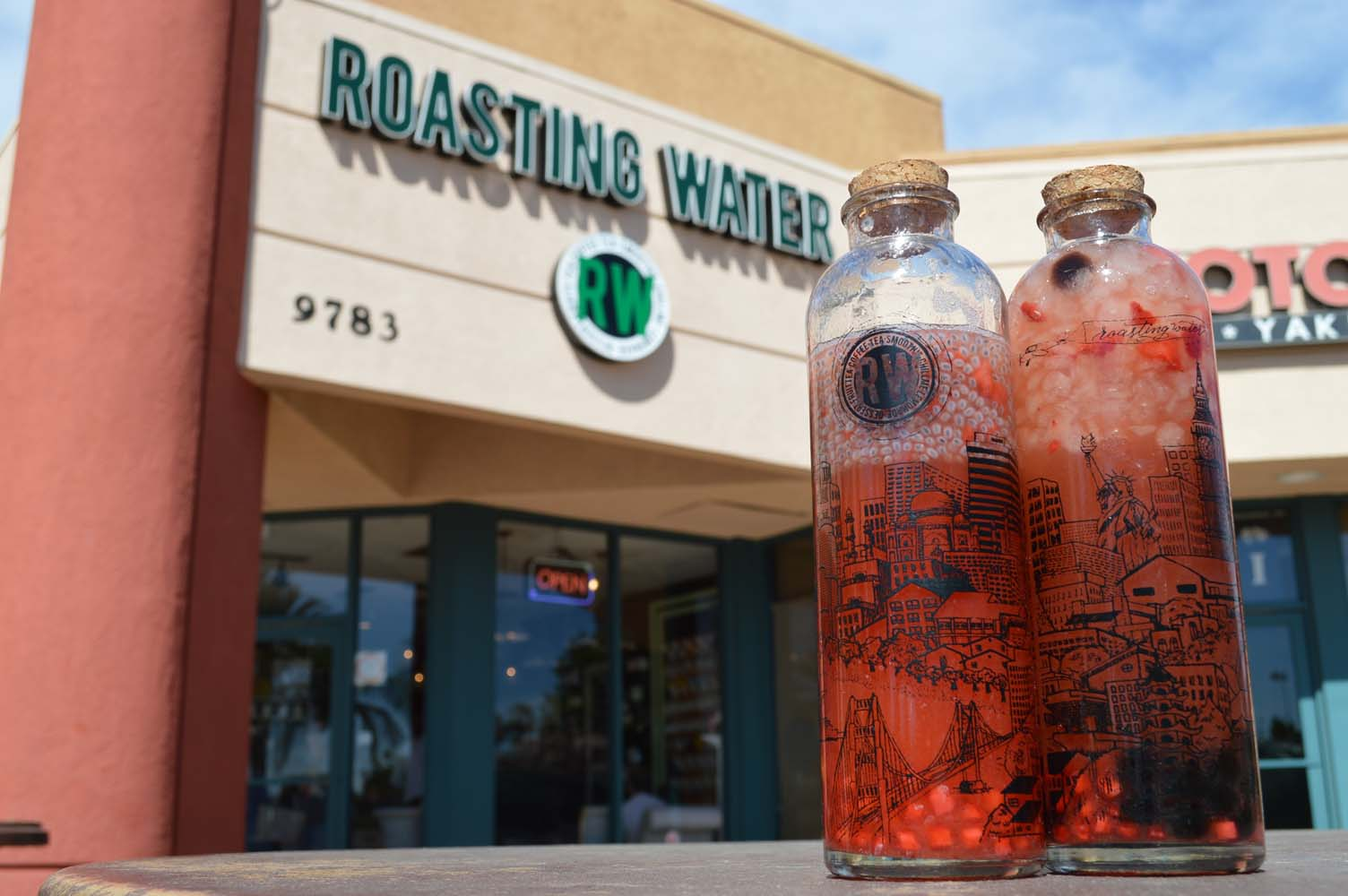 ROASTING WATER PRESENTS THE PERFECT TOURIST BOTTLES