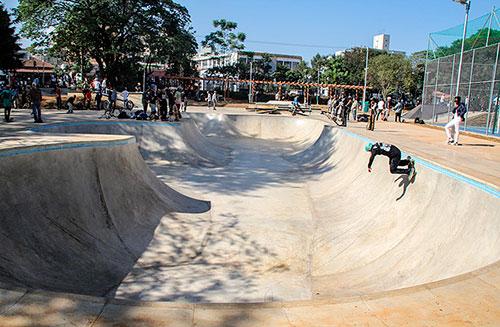 Skatepark do Parque Chácara do Jockey
