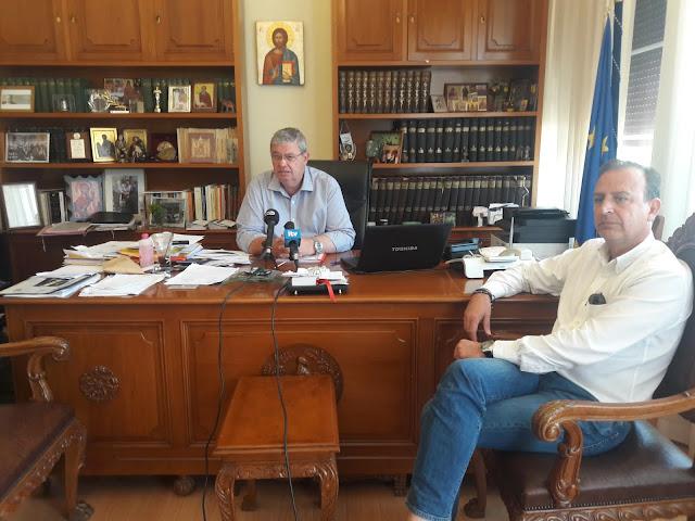 Συνεργασία Περιφερειάρχη – Δημάρχου Ιωαννίνων για το «μεγάλο δακτύλιο» της πόλης των Ιωαννίνων