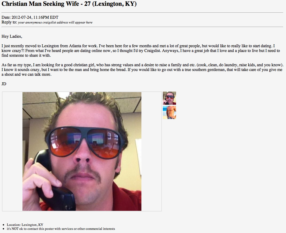 The Nega Blog: Craigslist Dating 101
