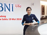 Walk In Interview Bank BNI Padang 19 Mei 2018 (Gaji sd 4,7 Juta)