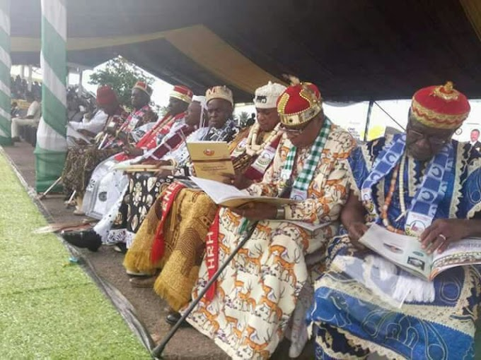 South East demand for Restructuring of the Federation…… Read this Motion moved by Igbo Leaders.