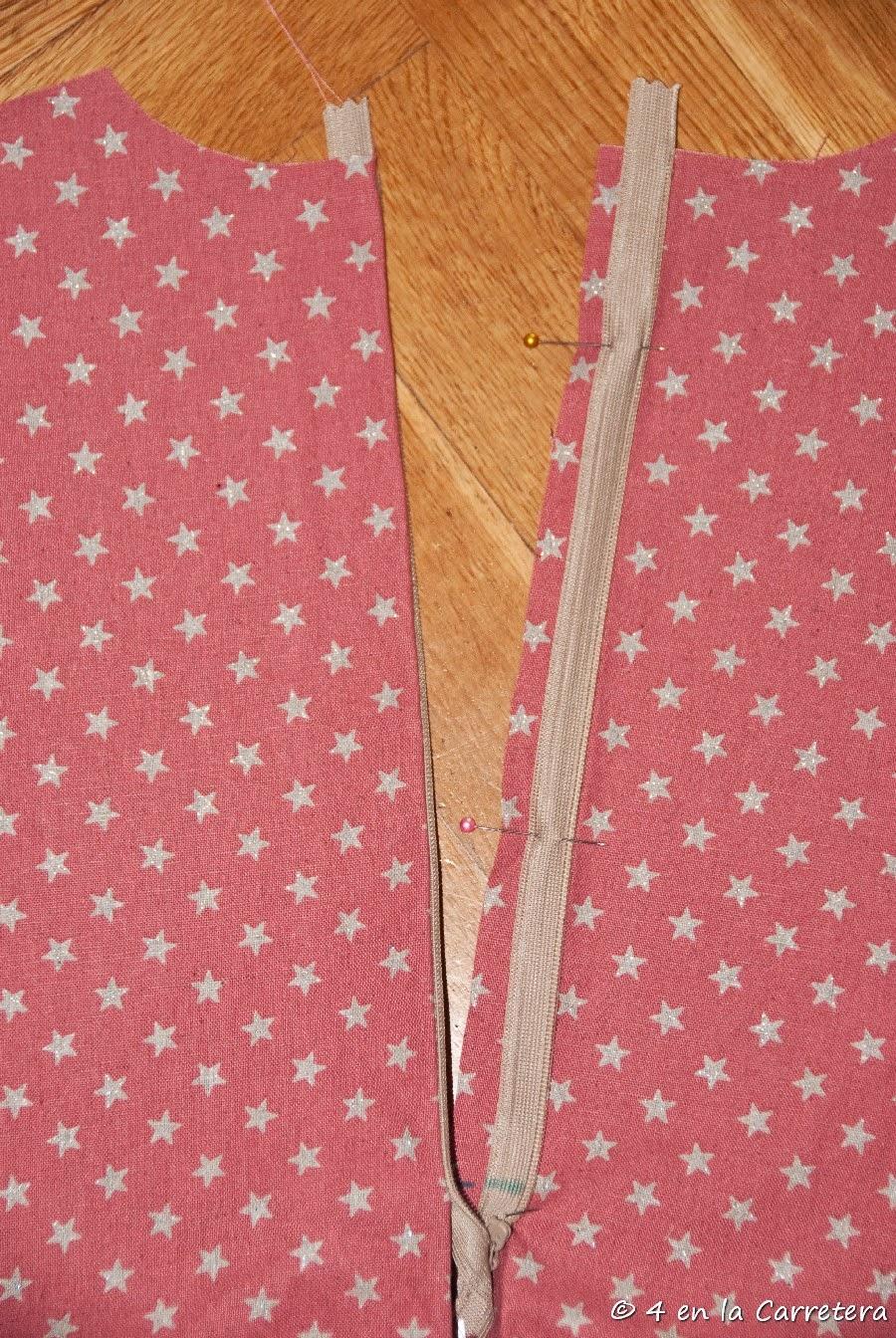 4 En La Carretera Handmade Tutorial Sewing An Invisible Zipper