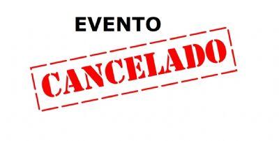 Sarau Rural cancelado