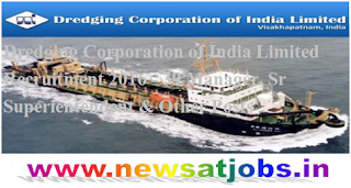 dredging+corporation+of+India+limited+recruitment+2016