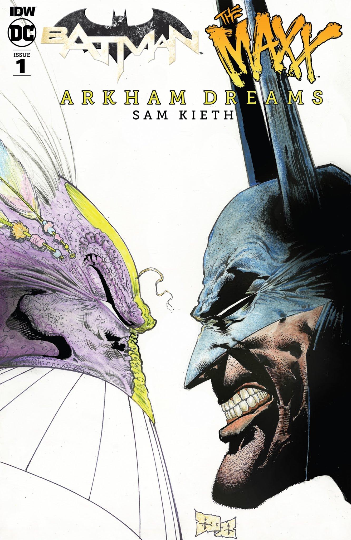 Batman/The Maxx: Arkham Dreams 1 Page 1
