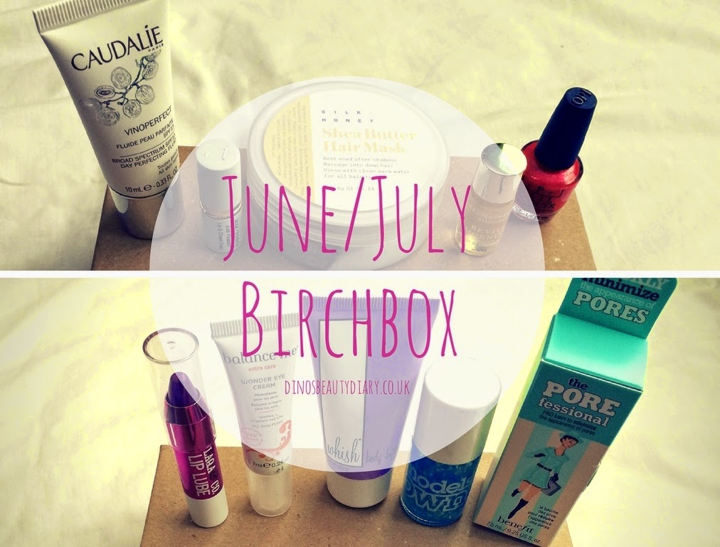 Dinos Beauty Diary - June and July Birchbox