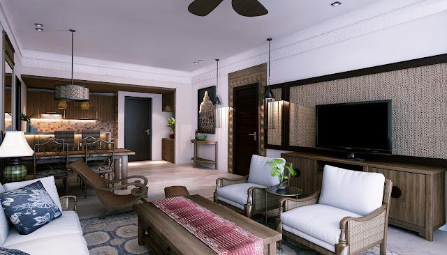 mẫu thiết kế căn hộ Beau Rivage Nha Trang