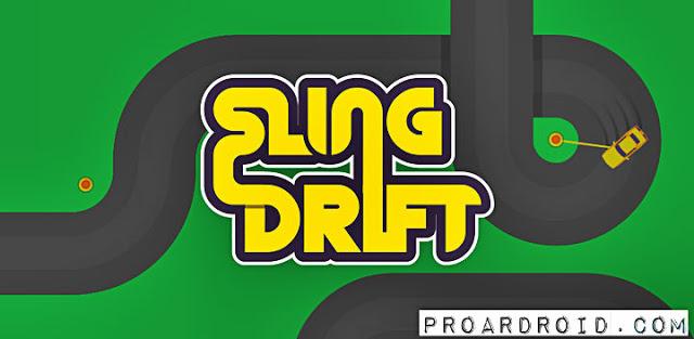 لعبة Sling Drift v2.10 Apk مهكرة كاملة للاندرويد باخر تحديث logo
