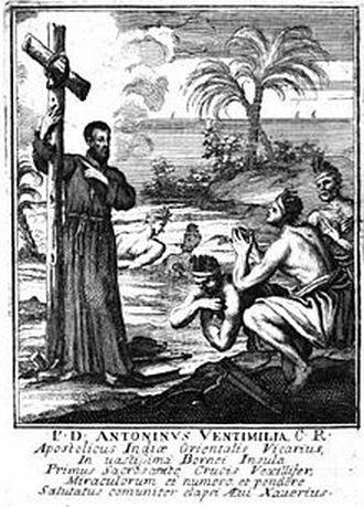 Antonino Ventimiglia dan Suku Dayak Ngaju
