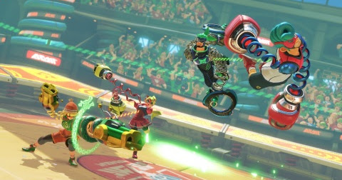 ARMS and Splatoon 2 Headline New Nintendo Direct Presentation Overview