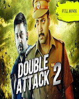 Double Attack 2 (Thani Oruvan) 2017 Hindi Dubbed 720p HDRip With ESubs