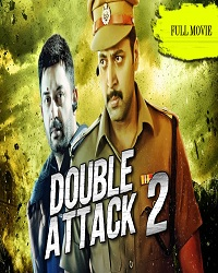Poster of Double Attack 2 (Thani Oruvan) 2017 Hindi Dubbed 720p HDRip With ESubs