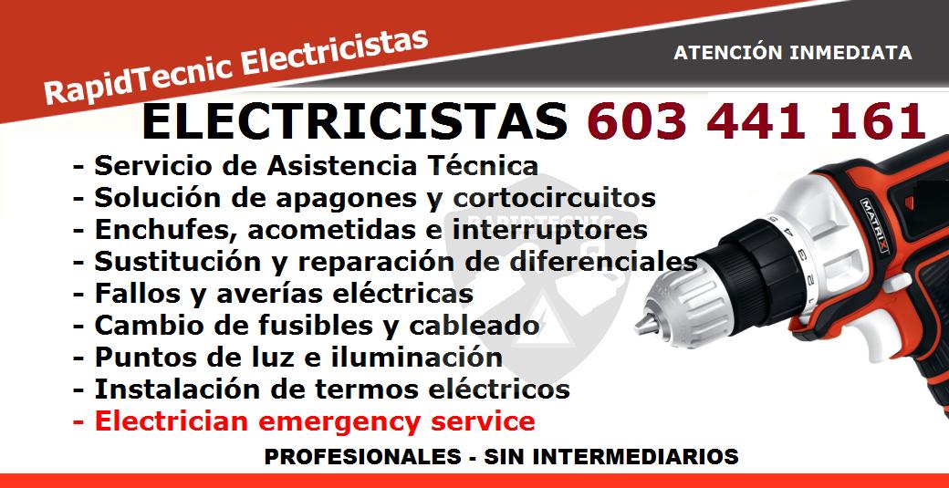 Rapidtecnic murcia electricistas balsapintada fuente lamo 603 441 161 - Electricistas en murcia ...