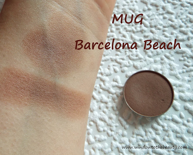 barcelona beach  mug swatch
