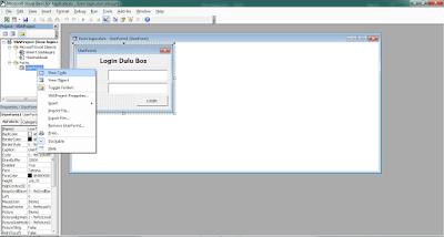 cara membuat form login di excel 2007