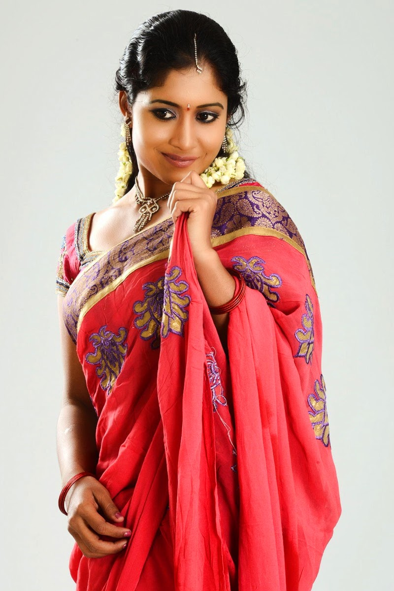 South indian saree wearing beautiful girl prameela latest gorgeous click here voltagebd Images