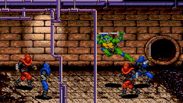 As Tartarugas Ninja Mega Drive