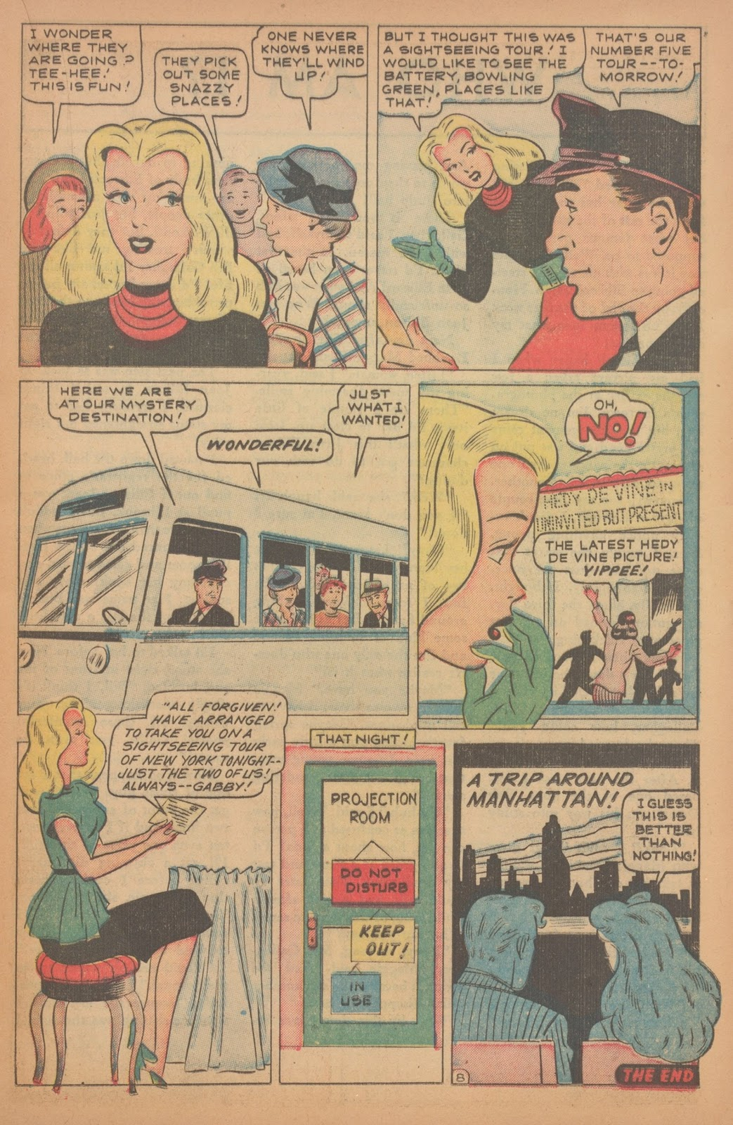 Read online Nellie The Nurse (1945) comic -  Issue #18 - 23