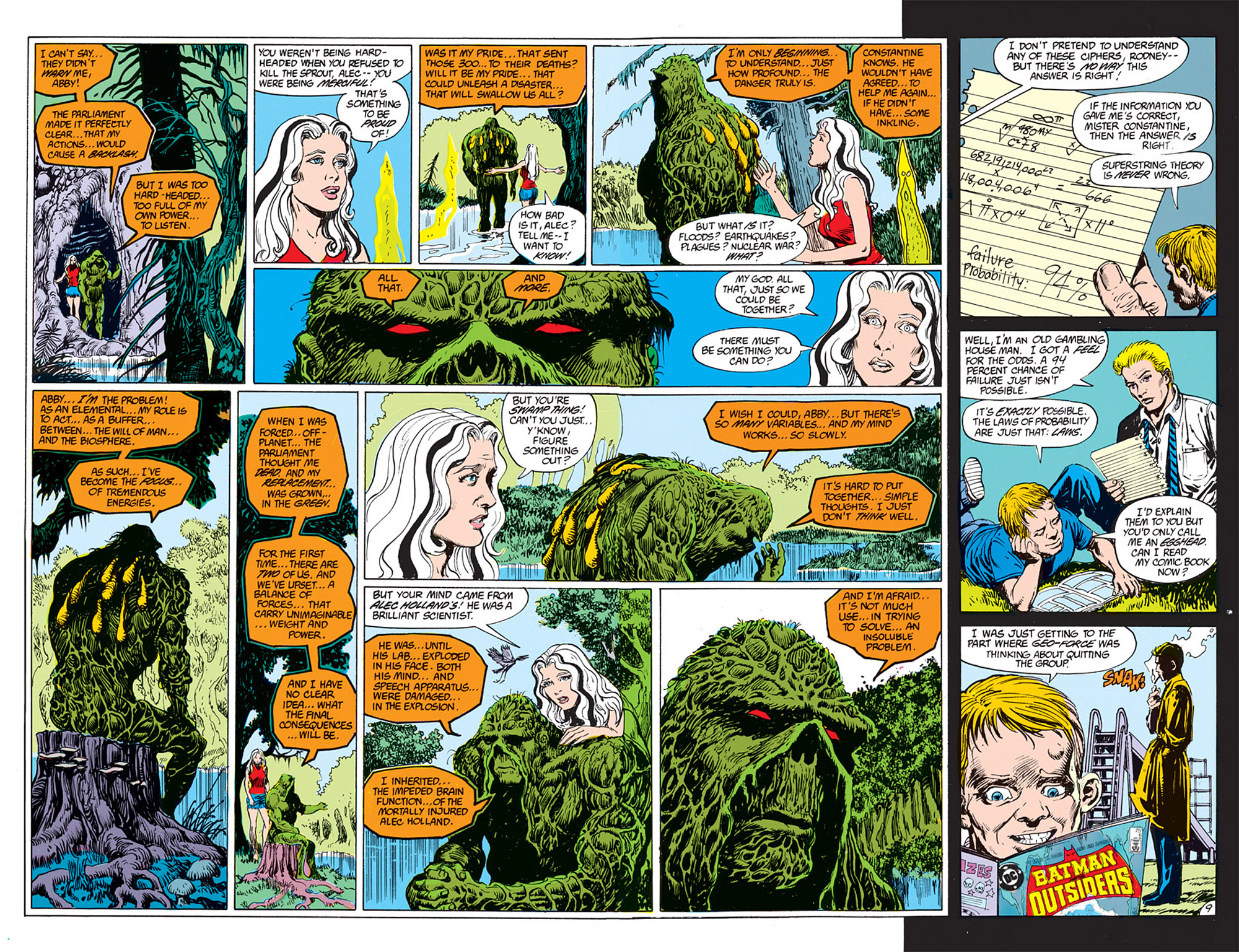 Swamp Thing (1982) Issue #72 #80 - English 6