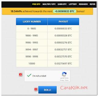 Cara Mendapatkan Reward 0.03275697 BTC Setiap 60 Menit