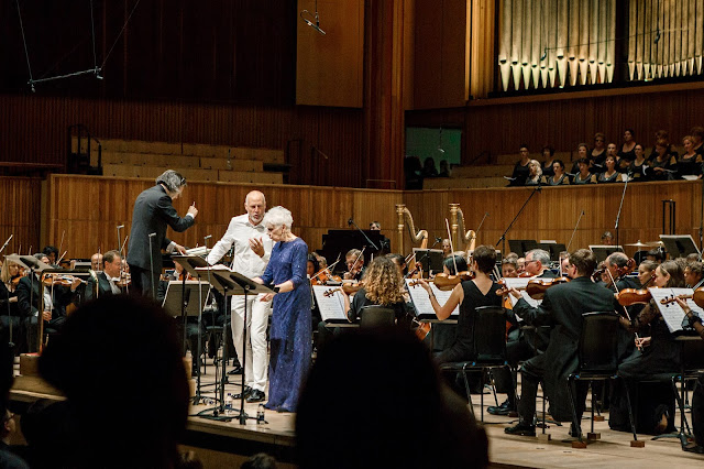 George Enescus's Oedipe - London Philharmonic Orchestra, Vladimir Jurowski, Paul Gay, Dame Felicity Palmer at the Royal Festival Hall (Photo Allen Max)