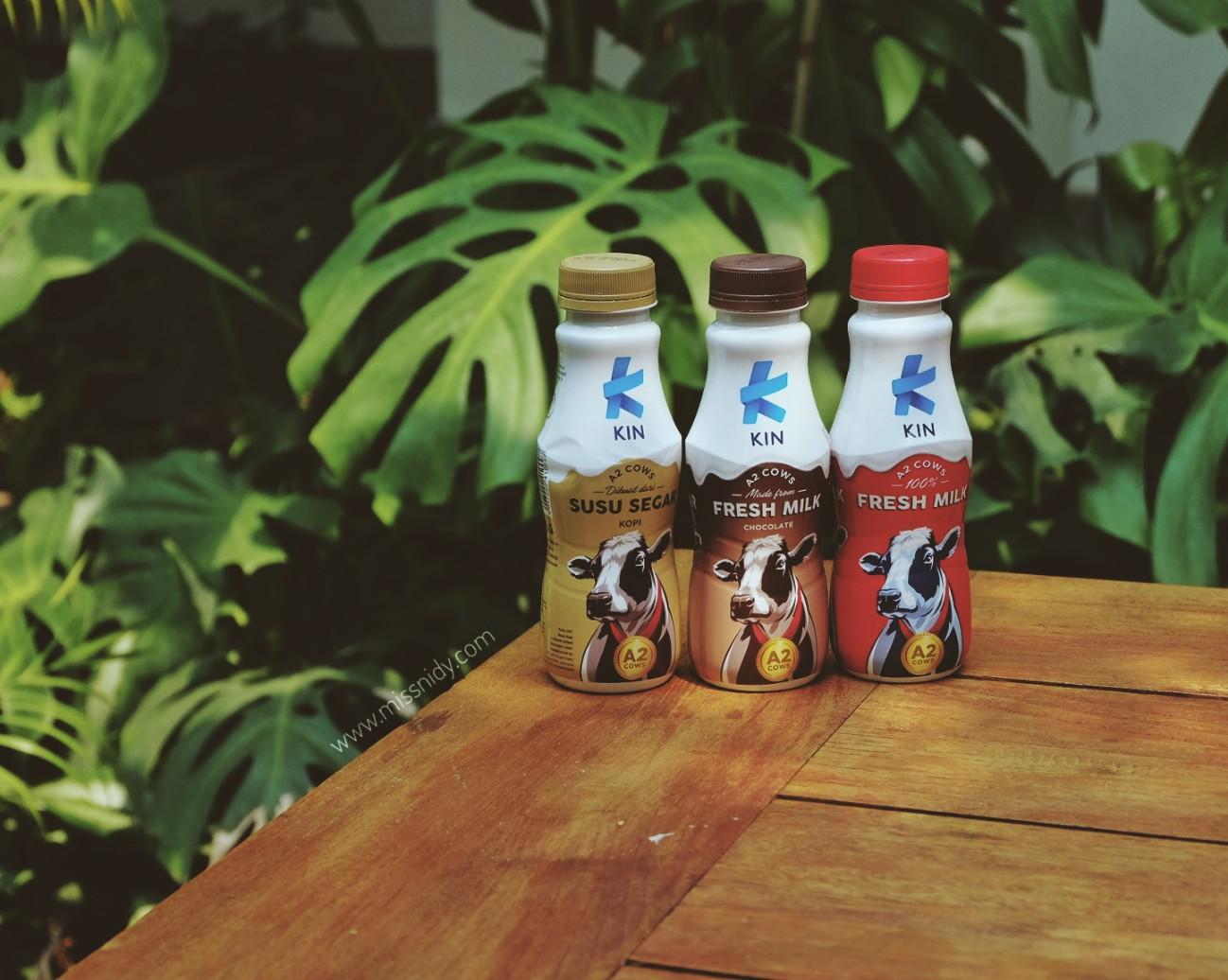 harga kin fresh milk terbaru