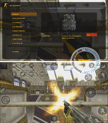 Game Counter Strike Seperti Point Blank Mod Senjata dan Map seperti PB