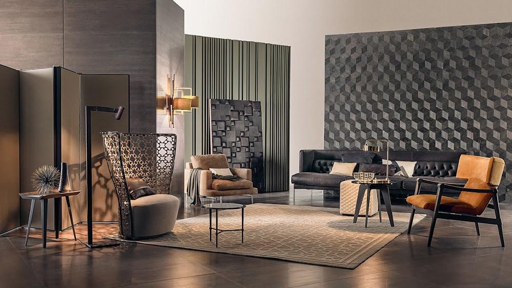 eclectic-living-room-walls