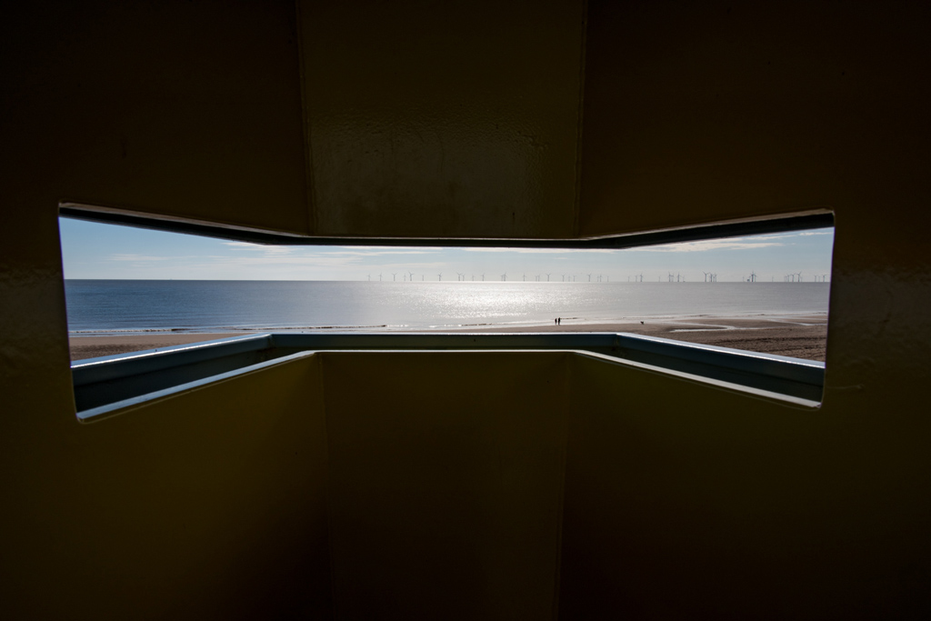 Viewing platform - Copyright Chris Goddard