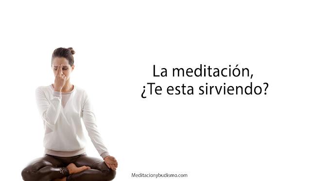 Como saber si la meditación te esta sirviendo