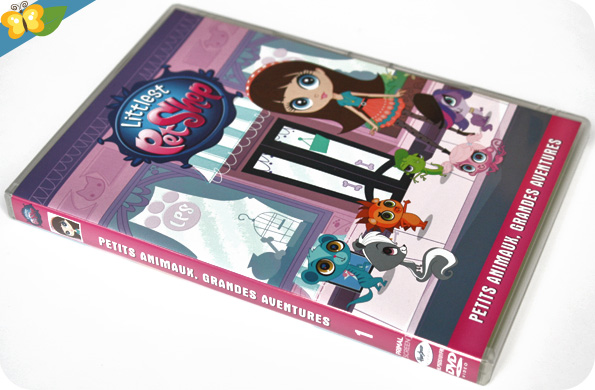 DVD Littlest Pet Shop - Petits animaux, grandes aventures