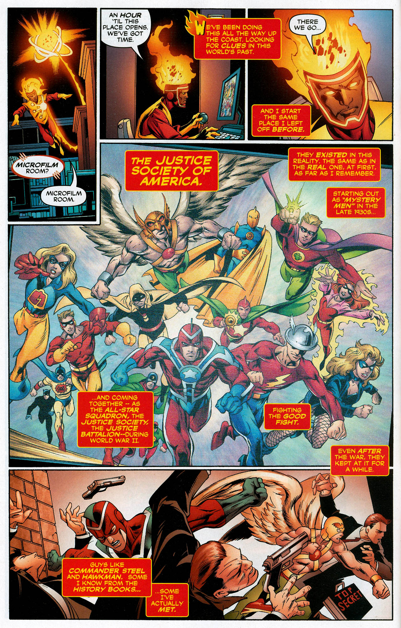 Read online Trinity (2008) comic -  Issue #20 - 6