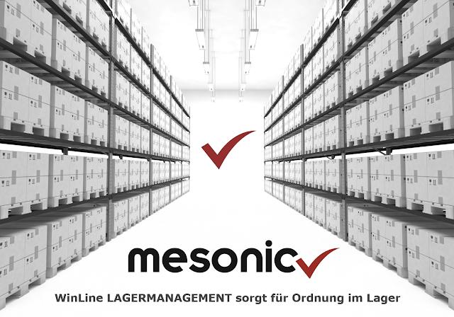 mesonic : WinLine LAGERMANAGEMENT sorgt für Ordnung im Lager. BT-IT GmbH Ihr mesonic - Partner