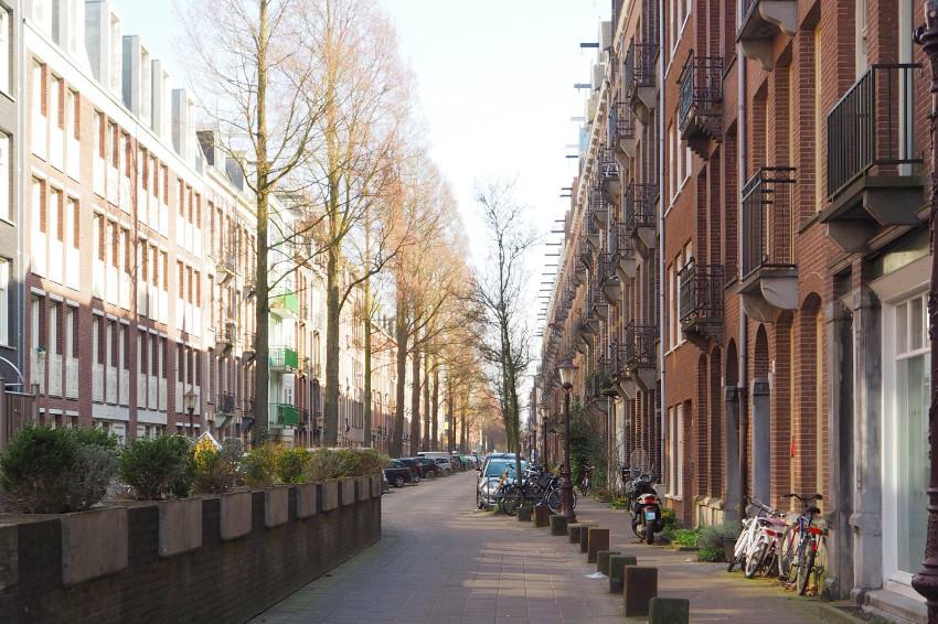 Viertel De Pijp in Amsterdam