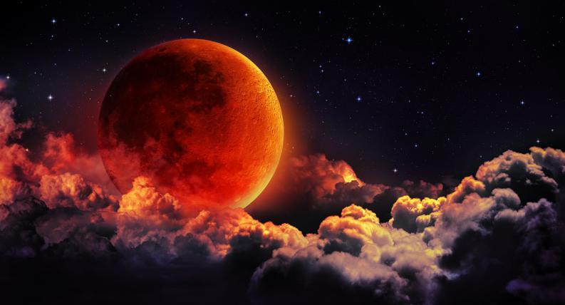Full Moon Lunar Eclipse in Aquarius, July 27, 2018 ~ Conscious