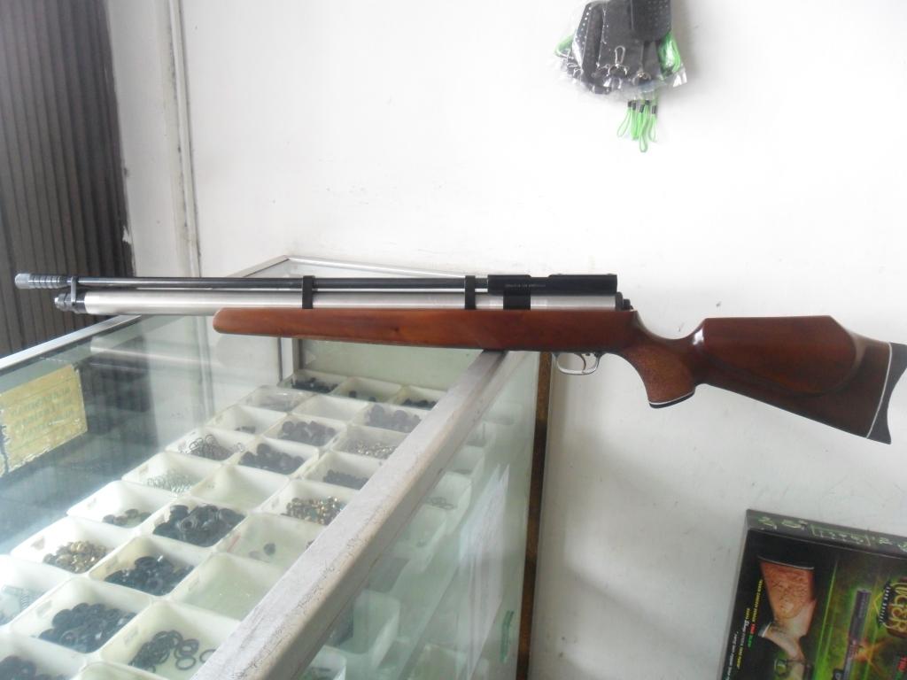 GUNS AND HOBBIES: SENAPAN PCP MAUSER TABUNG TITANIUM LARAS