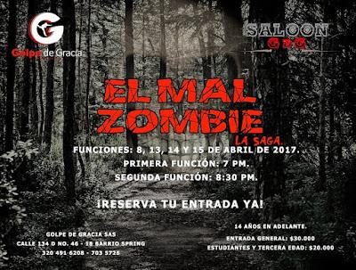 EL MAL ZOMBIE (TEATRO) 2