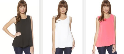 Modelos de camisetas de tirantes casual