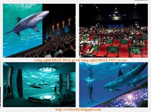 Công nghệ IMAX 3D là gì với công nghệ IMAX CGV ra sao
