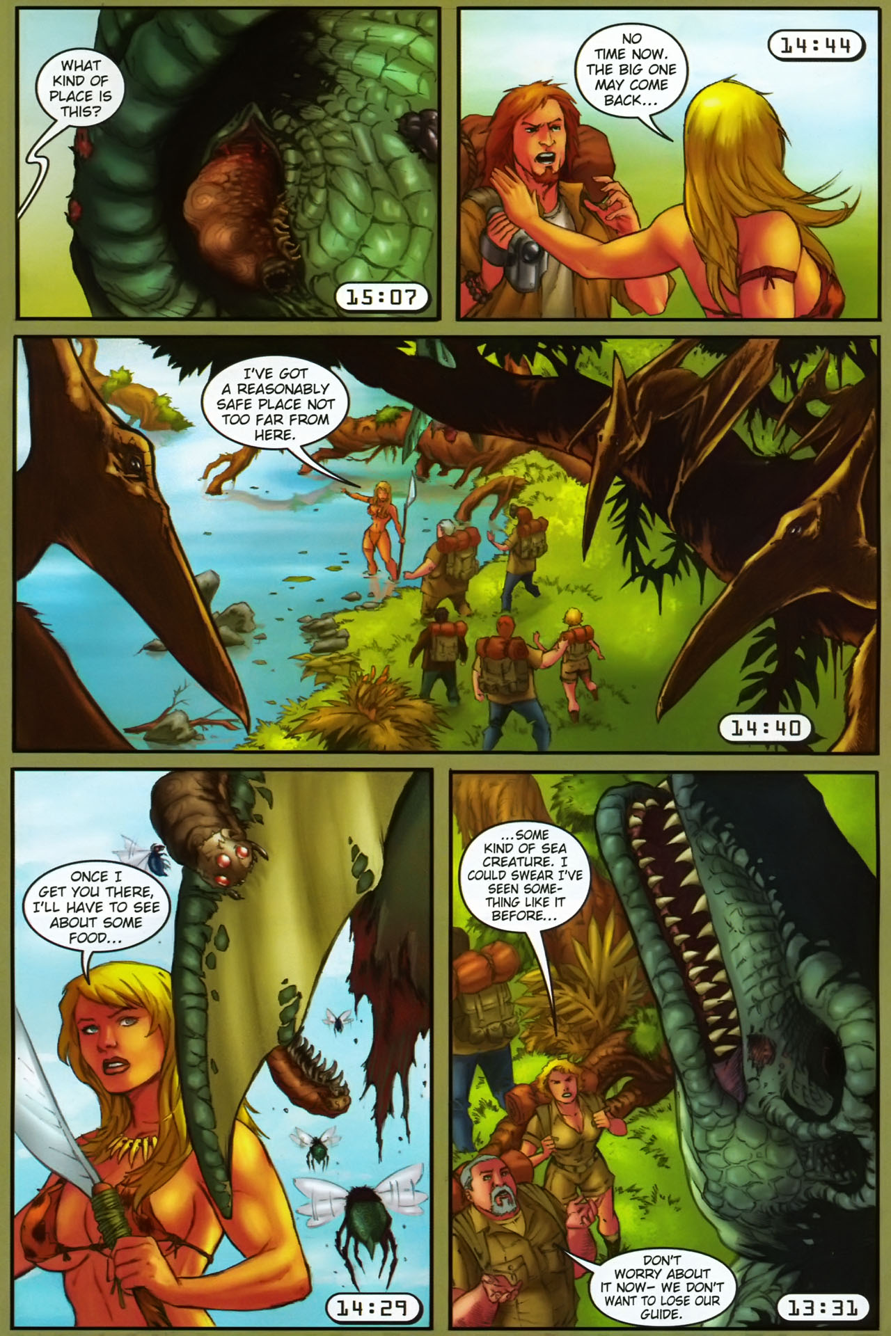 Read online Jungle Girl comic -  Issue #1 - 22