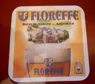 posavasos de la cerveza belga floreffe