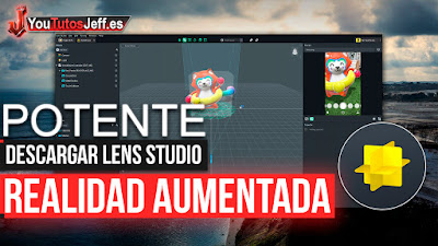 Realidad Aumentada, lens studio, Programas gratis
