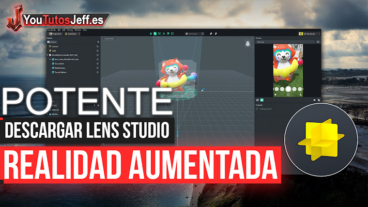 Como Descargar Lens Studio - Realidad Aumentada