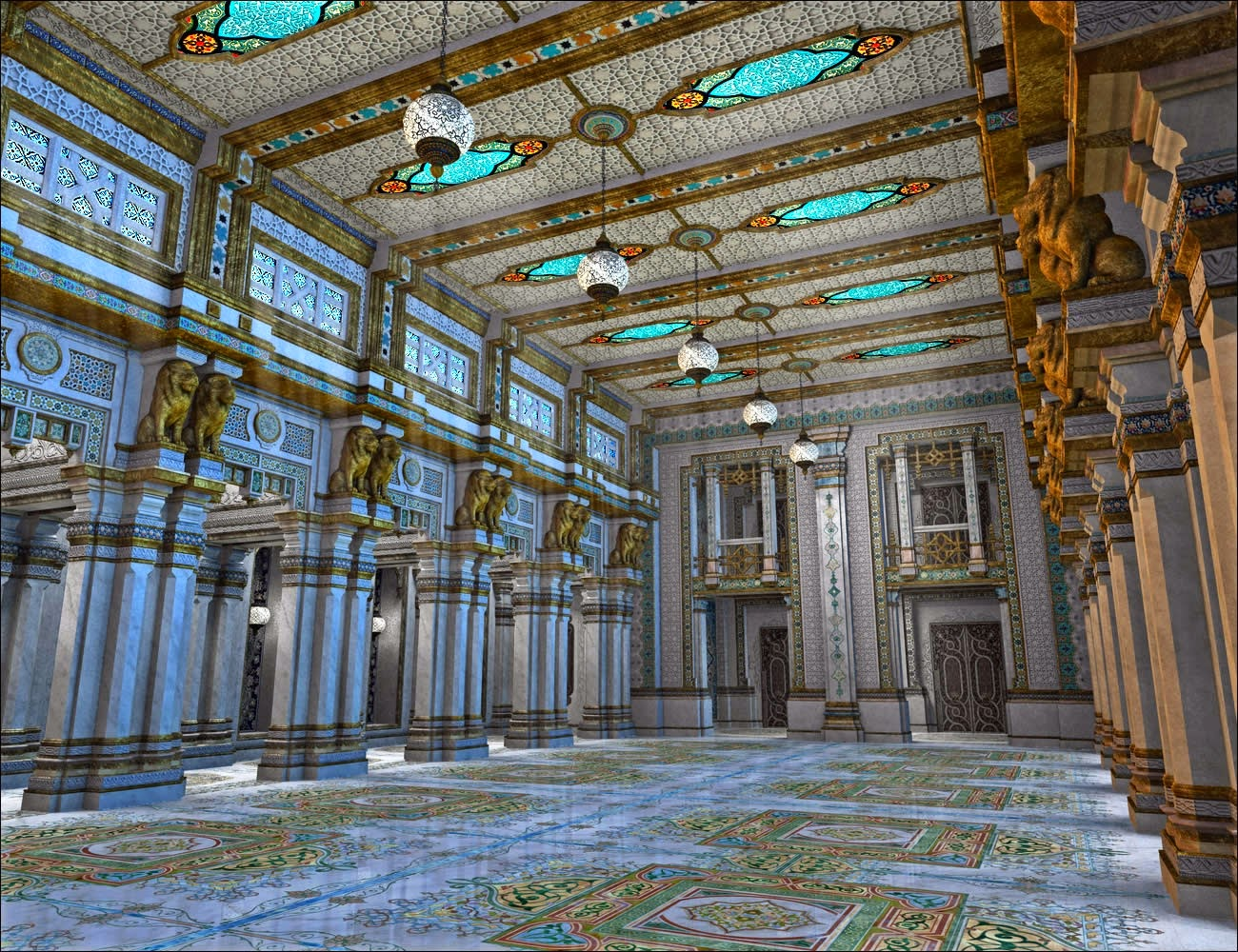 Download Daz Studio 3 For Free Daz 3d Persian Palace 3