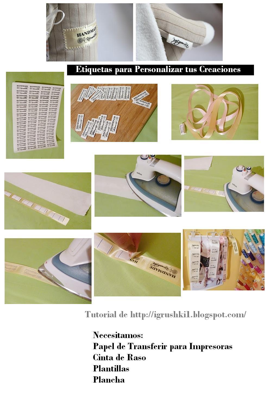 etiquetas, logos, creaciones, artesanías, patentar, copyright, plantillas, manualidades