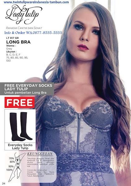 Promo Free Juli 2018, Lady Tulip, Long Bra